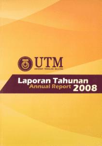 Kulit Depan Laporan Tahuan 2008