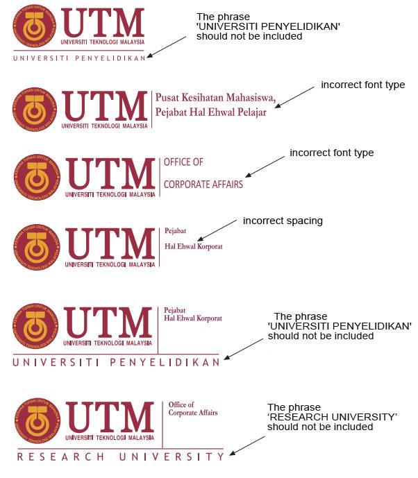 logo   utm brand, Presentation templates